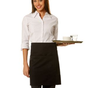 Short Waist Apron - 100% cotton canvas Thumbnail