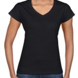 Gildan Ladies' V Neck Thumbnail