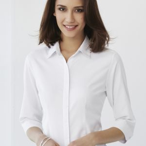 Women's Biz Collection Stirling 3/4 Sleeve Shirt Thumbnail