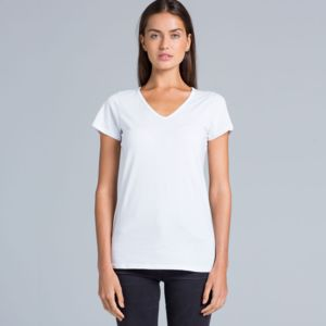 AS Colour Bevel V Neck Womens Tee Thumbnail