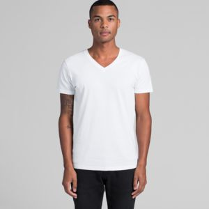 Men's Tarmac Boutique V Neck T Shirt by 'As Colour ' Thumbnail