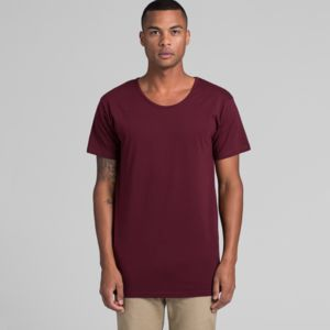 Men's AS Colour Shadow Scoop Neck T Shirt Thumbnail