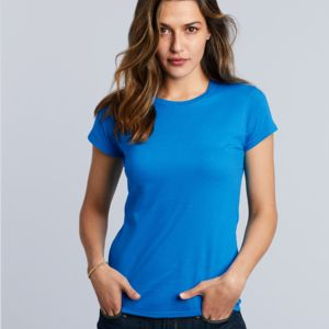 Women's 'Gildan' Slim T-Shirt Thumbnail