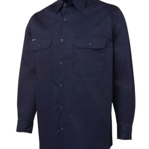 JB's Wear L/S 150G Work Shirt Thumbnail