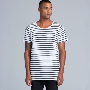 AS Colour Wire Stripe Tee 5024 Thumbnail