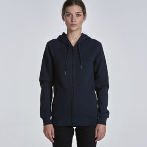 Unisex Index Zip Up Hood by 'AS Colour' Thumbnail