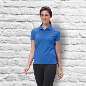 Women's Quoz Cotton Pique Polo Thumbnail
