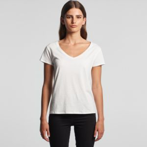 AS Colour La Brea V Neck Womens Tee Thumbnail