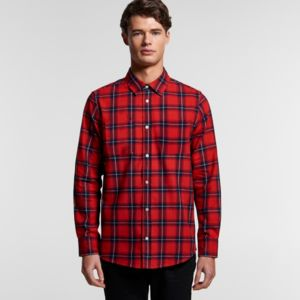AS Colour Men's Plaid Shirt Thumbnail