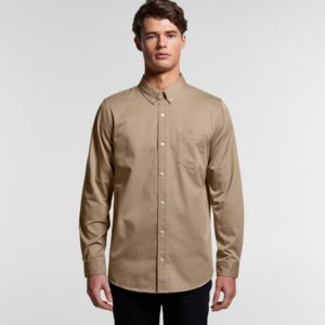 AS Colour Men's Denim Wash Shirt 5414 Thumbnail