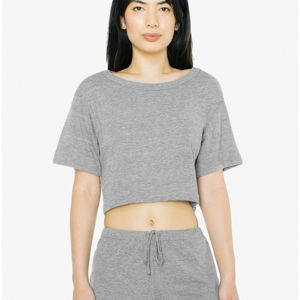 American Apparel Tri-Blend Crop Scrimmage Tee Thumbnail
