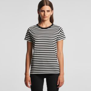 AS Colour Womens Maple Stripe Tee Thumbnail