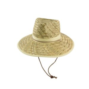 Straw Hat & Custom Cotton Band Thumbnail