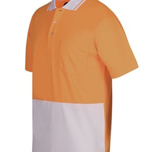 Hi Vis Non Cuff Traditional Polo 50+ Thumbnail