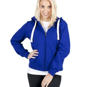 Ramo Ladies/Junior Heavy Zip Fleece Hoodie Thumbnail