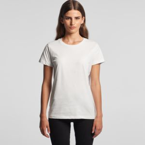 AS Colour Women's Maple Crew Neck Tee Embroidery Thumbnail