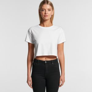 AS Colour CROP TEE - 4062 Thumbnail