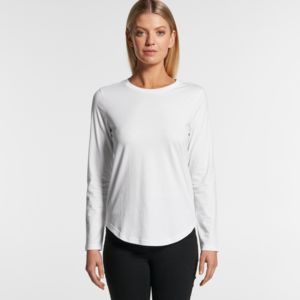 AS Colour Women's Curve Longsleeve - 4055 Thumbnail