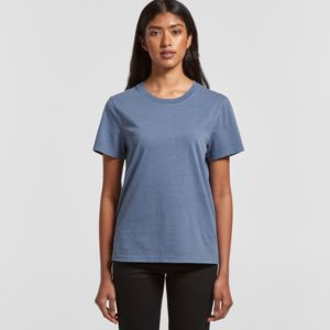 AS Colour Women's Faded Tee - 4065 Thumbnail